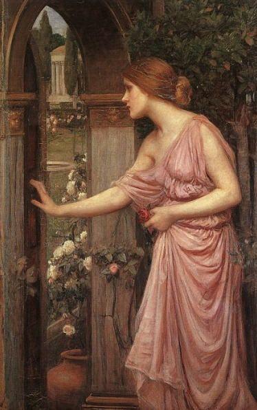 Psyche avab ukse Cupido aeda